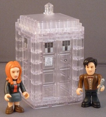 Dr. Who Doctor Who Microtardis Dematerialising Mini Set