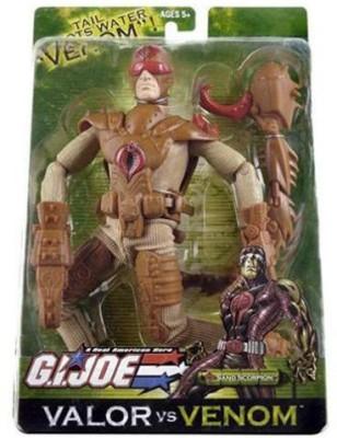 G I Joe Valor Vs Venom 12 Inch Tall Sand Scorpion