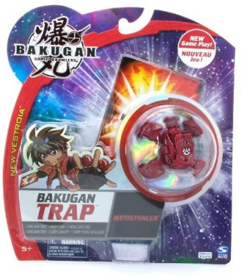 Spin Master Bakugan Trap Metalfencer Marble Color Varies