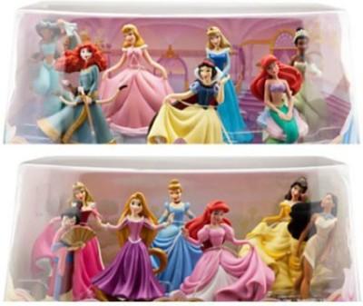 Disney Bundle 2 Items Princess Mini Play Sets 1 And 2 14 Pc