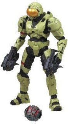 Mcfarlane Toys Halo 2009 Wave 1 Spartan Soldier Security