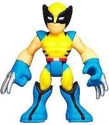 Playskool Marvel Super Hero Adventures Mini Wolverine [Bagged]