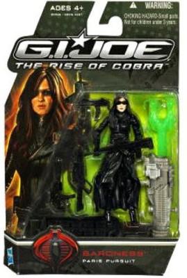 G I Joe Movie The Rise Of Cobra 3 3/4 Inch Baroness