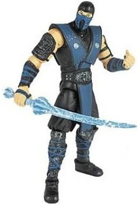 Mortal Kombat Mortal Kombat 9 Action Figure, Sub-Zero, 4 Inches