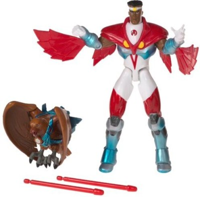 Toybiz The Avengers Animated Series Falcon With Missile Firing