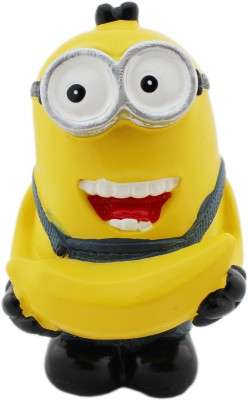 Tootpado Cartoon Toys Action Figure With Banana (1b433) - Resin - Bob/Kevin Cartoon Movie Doll