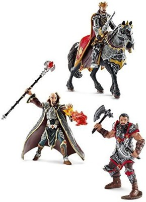 Schleich Dragon Knights Magicianking On Horse And Knight Berserk