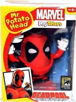 Mr Potato Head Sdcc 2014 Marvel Exclusive Deadpool Pop Taters