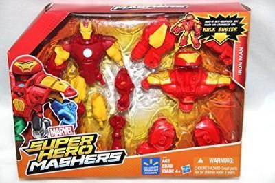 Hasbro Marvel Super Hero Mashers Iron Man Mashup W/ Hulk Buster