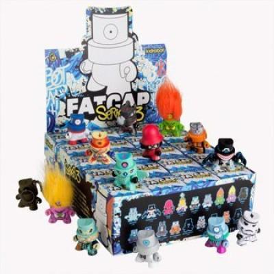 Kidrobot Fatcap Series 3 Vinyl Sealed Case Of 20