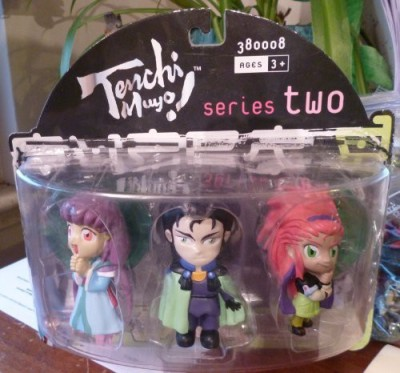 Tenchi Mujo Tenchi Muyo Series Two Anime 3 Pack