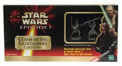 Star Wars Clash of the Lightsabers Card Game