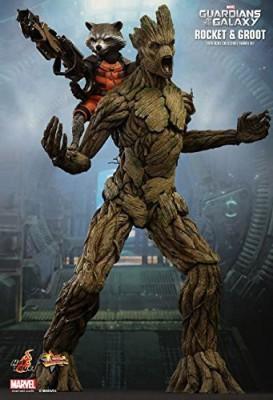 Marvel Hotguardians Of The Galaxy Rocket Raccoon & Groot 1/6