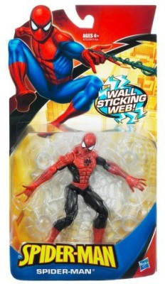 Hasbro Spiderman Trilogy Classic Heroes Red & Black Spiderman