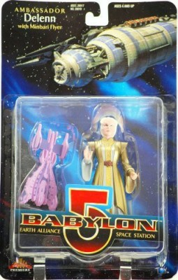Exclusive Premier Balon 5 Ambassador Delenn (Bone Head)6In W/ Minbari Flyer