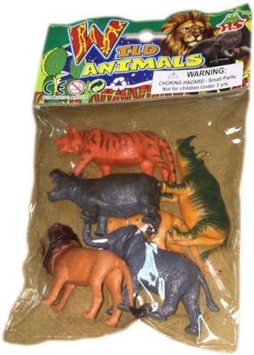 Rahul Toys 6pcs Small Wild Animal