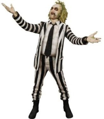 Cult Classics Movie Figures Beetlejuice (Black And White Outfit) Cult Classics