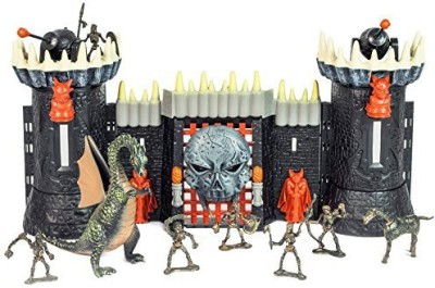 Toy Major Tomb Warrior Castle Playset