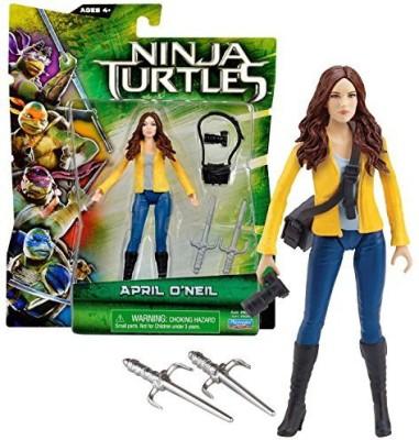 Teenage Mutant Ninja Turtles Playmates Year 2014 Tmnt Movie Series 5 Inch Tall April