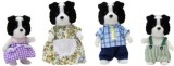 Calico Critters Border Collie Family Set...