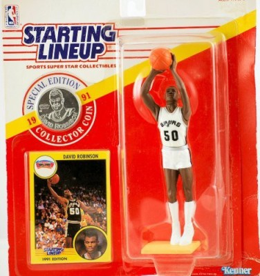 Starting Line Up 1991 Kenner Starting Lineup Special Edition David Robinson