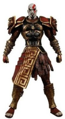 God of War Neca 2 Video Series 1 Kratos With Ares Armor [Version 2]