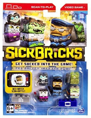 Sick Bricks Sick Team 5 Character Pack City Vs Monster