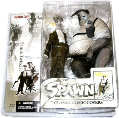 Mcfarlane Toys Spawn Classic Cover Series #25: Sam & Twitch 2 - Deluxe Action Figures