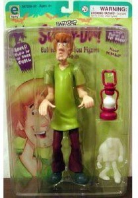 Equity Scoo Doo Shaggy Collectible With Bonus Glow In The Dark