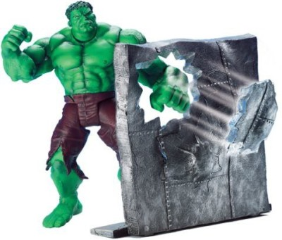 Toy Biz Punching Hulk With Wall Punching 65