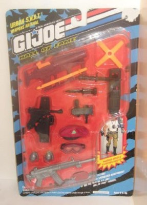 G I Joe Hall Of Fame Urban Swat Weapons Arsenal(Multicolor)