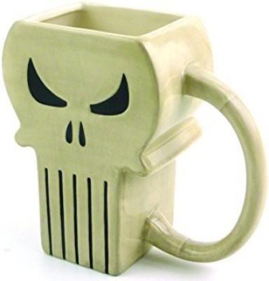 Classic Imports Marvel Heroes The Punisher Symbol Molded Mug