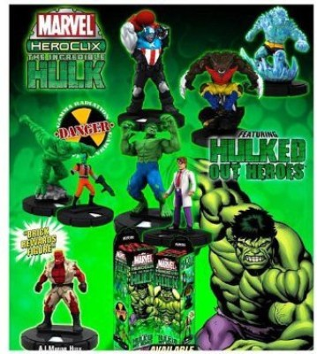 HeroClix Marvel Incredible Hulk Booster 5Pack 5 Random