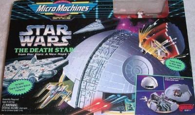 Galoob MicroMachines Star Wars Death Star