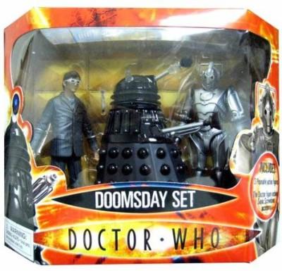 Underground Toys Doctor Who Doomsday Set