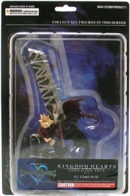 Kingdom Hearts Series 2 Formation Arts Cloud Strife