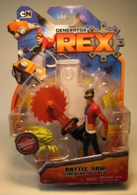 Generator Rex 4 Inch Battle Saw Rex Other Outfit