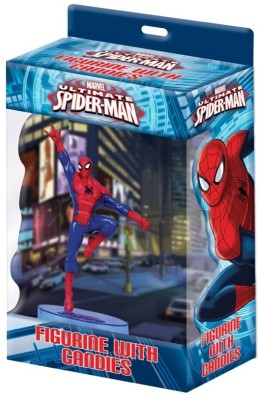 GRVK Spiderman Figurine with Candies Jumping Position