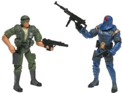 G I Joe Vs Cobra Duke (Green Uniform) Vs Cobra Commander
