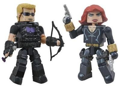 Marvel Minimates Series 17 Hawkeye And Black Widow