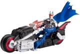 Mattel Chopper Vehicle and Figure (Multi...