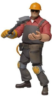 NECA Team Fortress Red Engineer Series 3