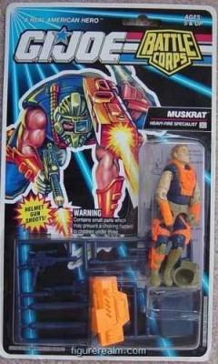 G I Joe Battle Corps Muskrat