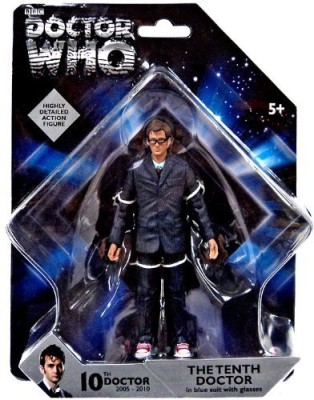 Unknown Doctor Who Highly Detailed 10Th Doctor In Blue Suit 5
