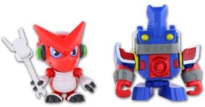 Digimon Fusion Shoutmon + Ballistamon