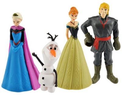 Disney Mini Figurine Set of 4 (Elsa, Ana, Olaf & Kristoff)