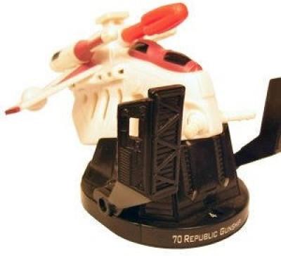 Hasbro AttackTix Star Wars Battle Masters Republic Gunship