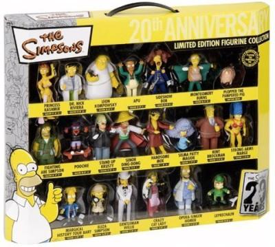 Merchandiseonline The Simpsons Merchandise 21 Piece Limited Edition Figurine