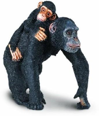 Safari Ltd. Wild Safari Wildlife Chimpanzee with Baby