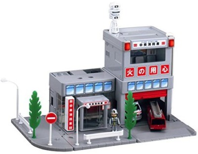 Takara Tomy Tomica Town - Fire Station